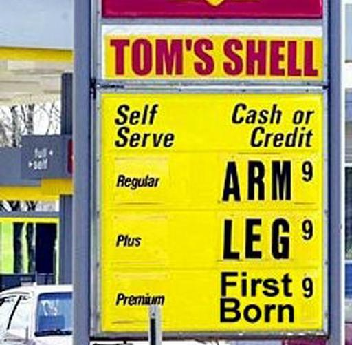 gas prices get worse and worse